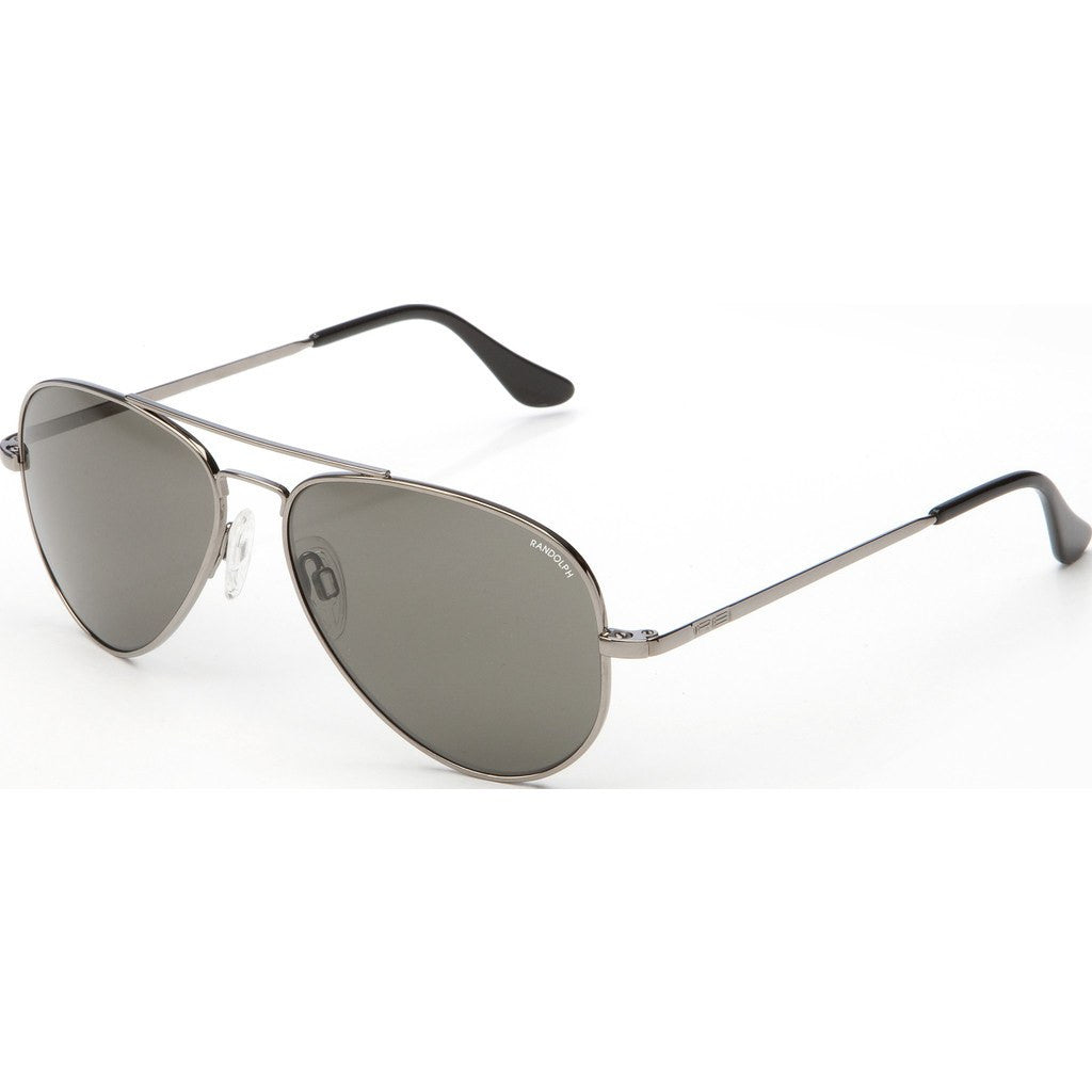 Randolph Engineering Concorde Gunmetal Sunglasses | Gray PC Skull 57MM CR7R441