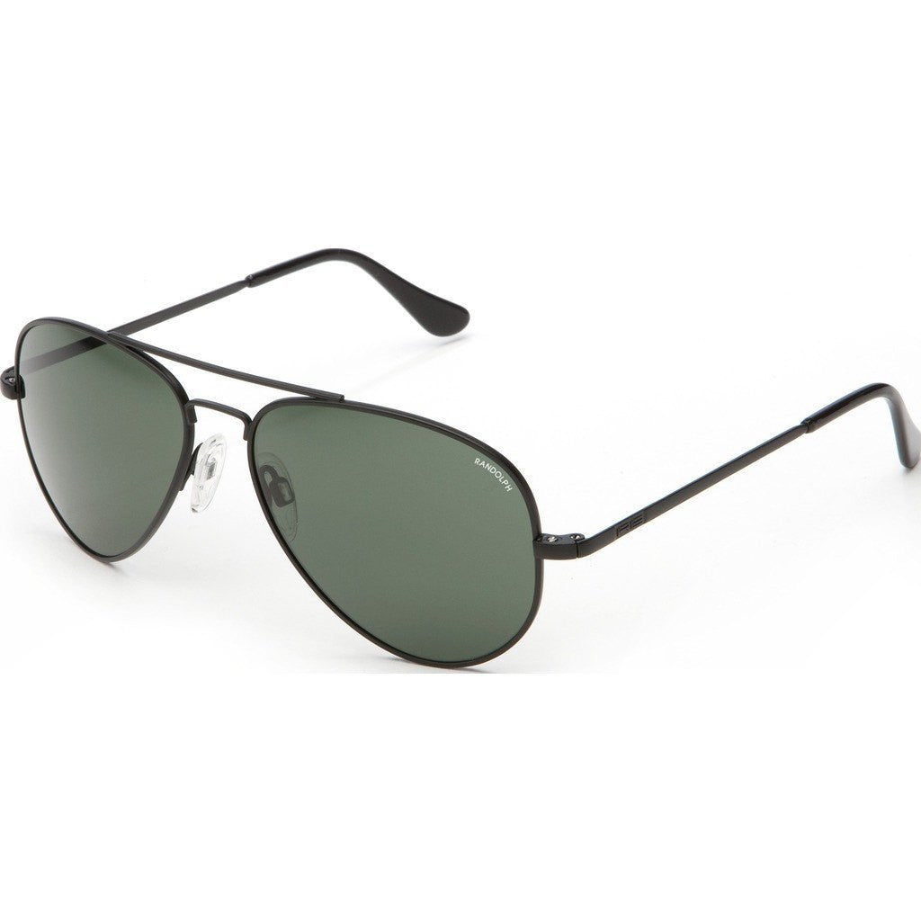 Randolph Engineering Concorde Matte Black Sunglasses | AGX Glass Skull 57MM CR72414/61MM CR12414