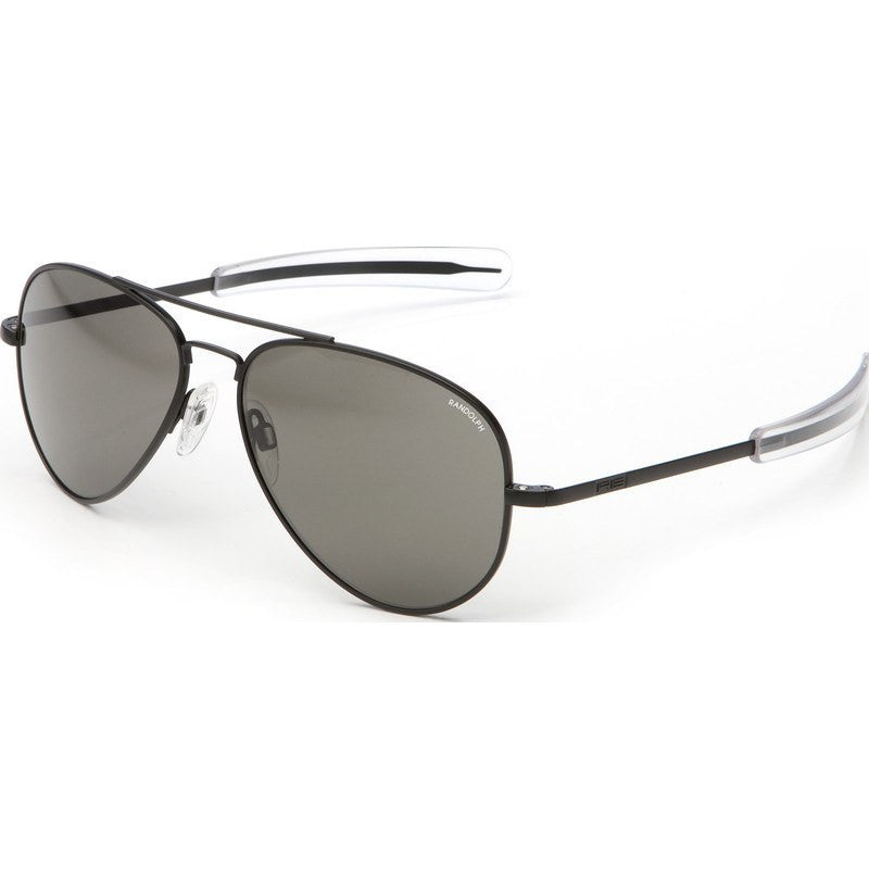 Randolph Engineering Concorde Matte Black Sunglasses | Gray Bayonet