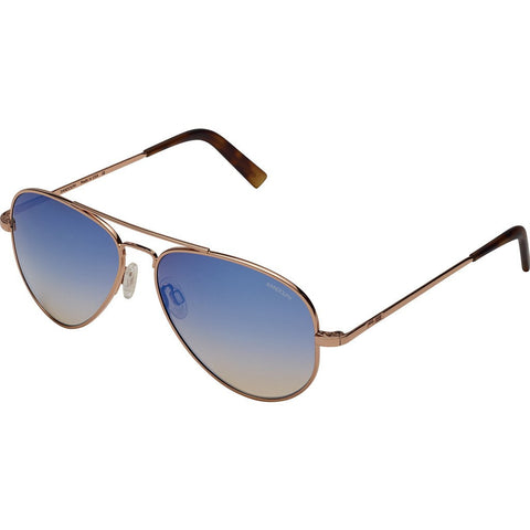 Randolph Engineering Concorde 23K Rose Gold Sunglasses | Oasis Metallic Nylon AR Skull 57MM CR75406-NY