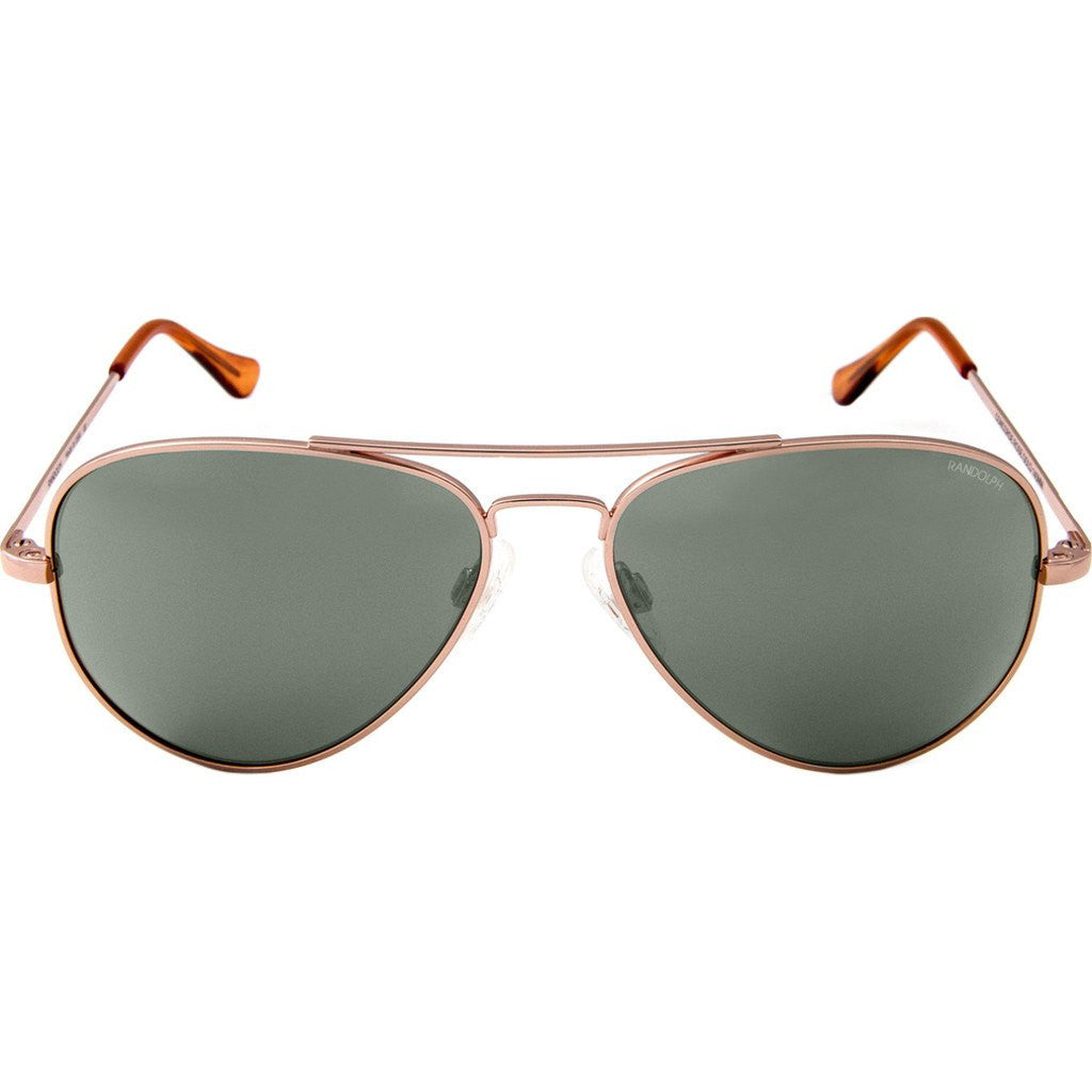 Randolph Engineering Concorde Rose Gold Sunglasses | AGX PC Skull