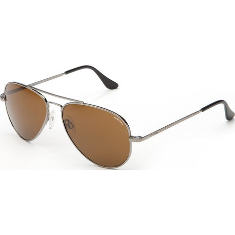 Randolph Engineering Concorde Gunmetal Sunglasses | Tan Glass Skull 57MM CR7R412