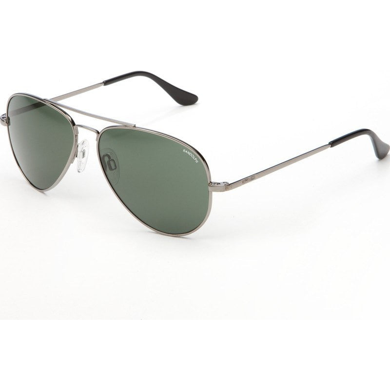 Randolph Engineering Concorde Gun Metal Sunglasses | AGX Green Skull