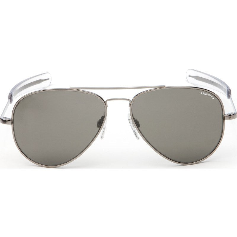 Randolph Engineering Concorde Gunmetal Sunglasses | Gray Polarized Bayonet