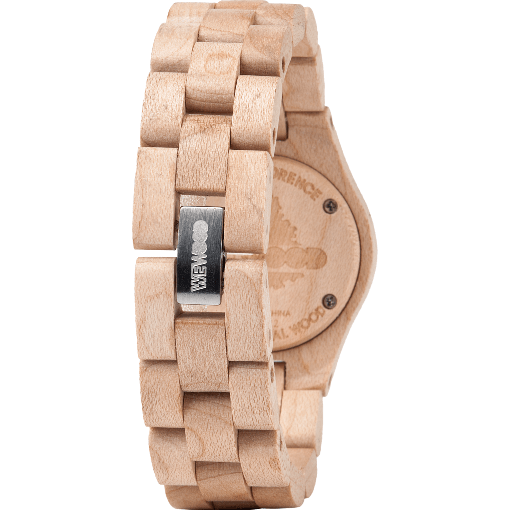 WeWood Criss Maple Wood Watch | Beige WCRBEI