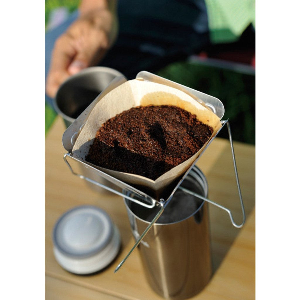 Snow Peak Collapsible Coffee Drip | Silver CS-113