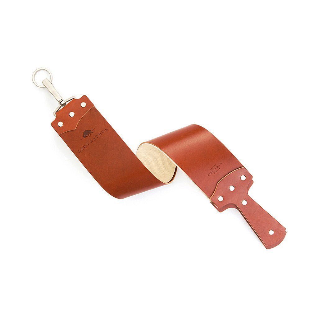 Ezra Arthur English Bridle Razor Strop | Cognac CS2519