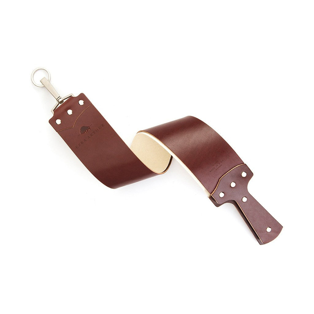 Ezra Arthur English Bridle Razor Strop | Burgundy CS2520