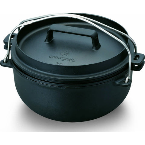 Snow Peak Japanese Dutch Oven 26cm | Cast Iron CS-520