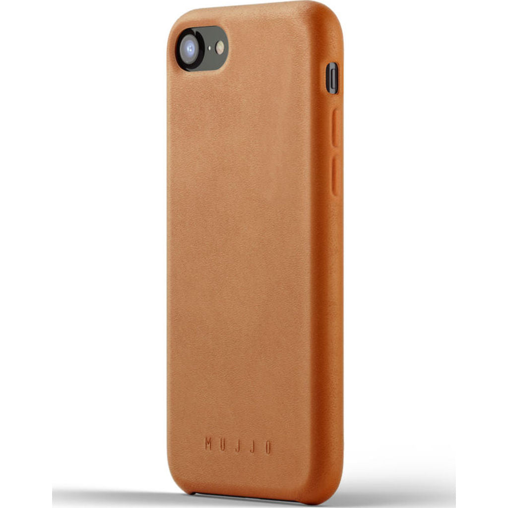 Mujjo Full Leather Case for iPhone 7/8 | Tan