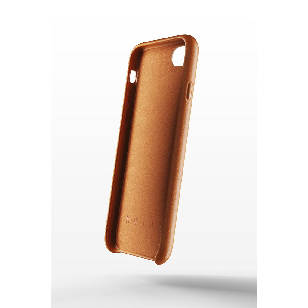 Mujjo Full Leather Case for iPhone 8/7 | Tan