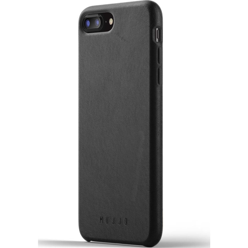 Mujjo Full Leather Case for iPhone 7/8 Plus | Black