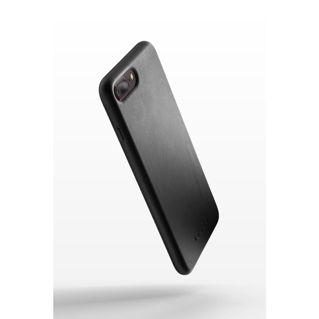 info for 0e6ee c7078 Mujjo Full Leather Case for iPhone 7/8 Plus | Black