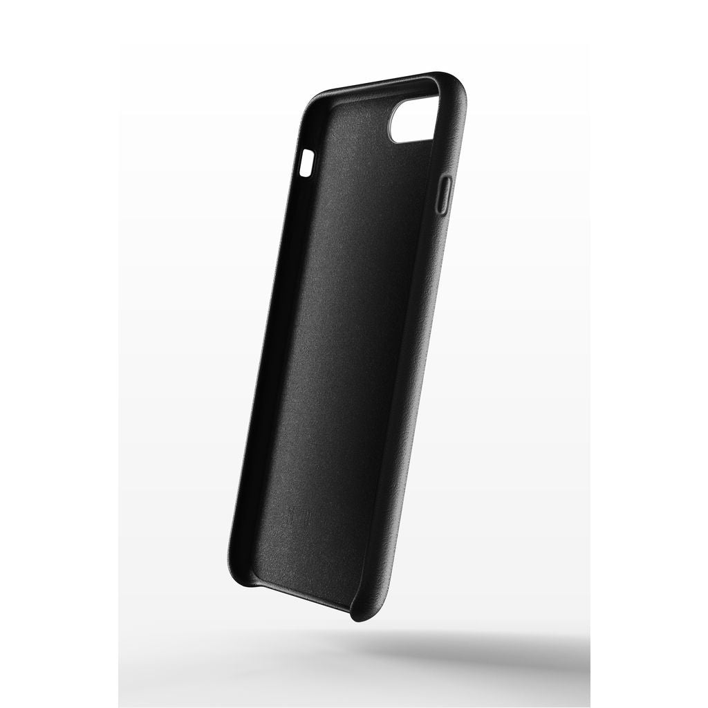 black leather iphone 7 case