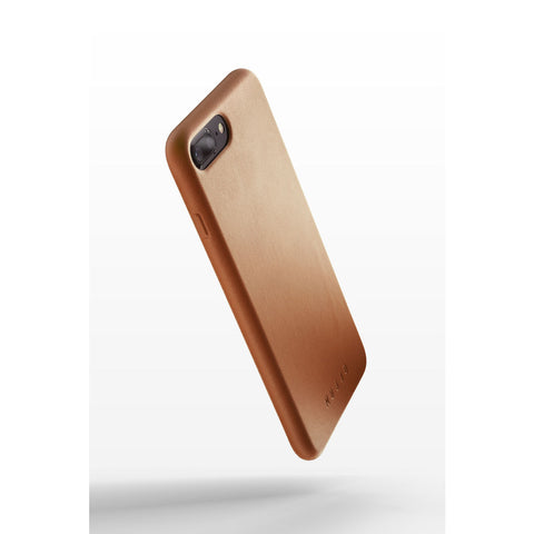 Mujjo Full Leather Case for iPhone 7/8 Plus | Tan