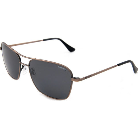 Randolph Engineering Corsair Antique Bronze Sunglasses | Gray Glass Skull 58MM CS8B411