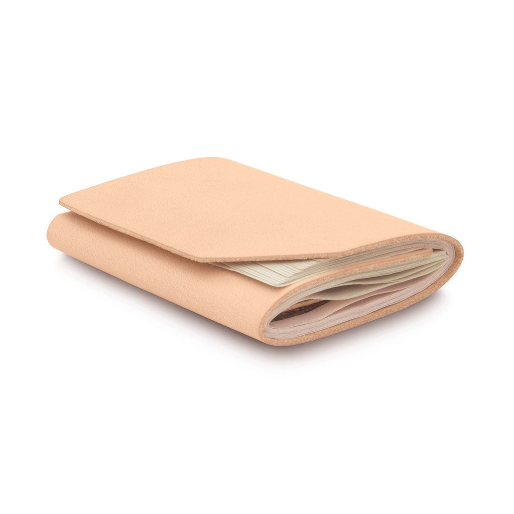 Ezra Arthur Cash Fold Wallet | Natural CW012