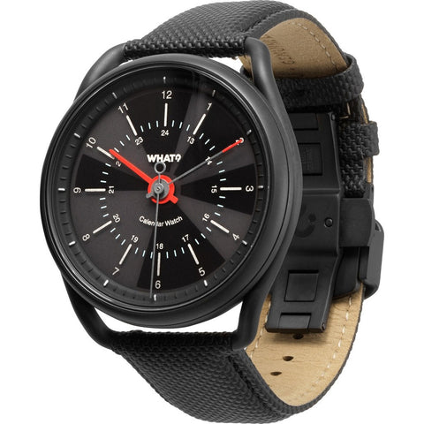 What? Watch Calendar Watch | Gunmetal Black CW101WGB