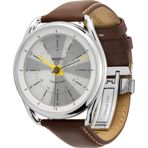 What? Watch Calendar Watch | Polar White CW103WPW