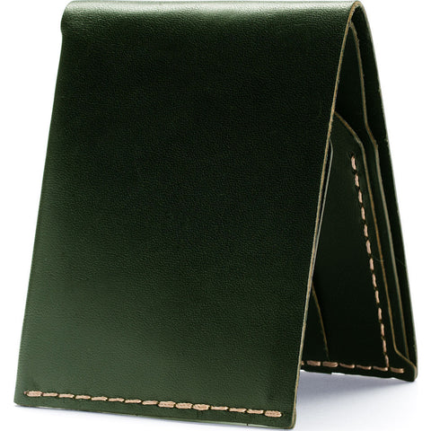 Ezra Arthur No.6 Wallet | Green Cw624
