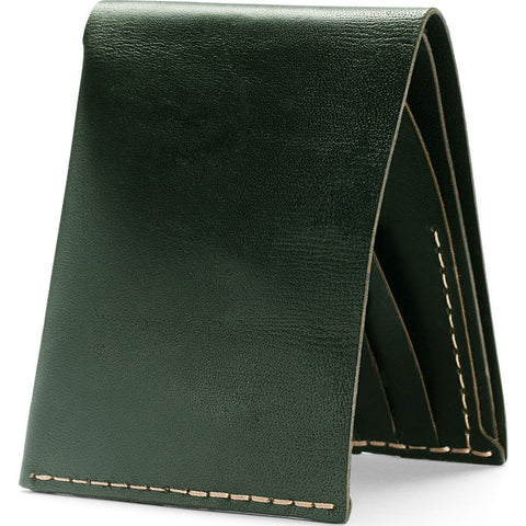 Ezra Arthur No.8 Wallet | Green Cw824