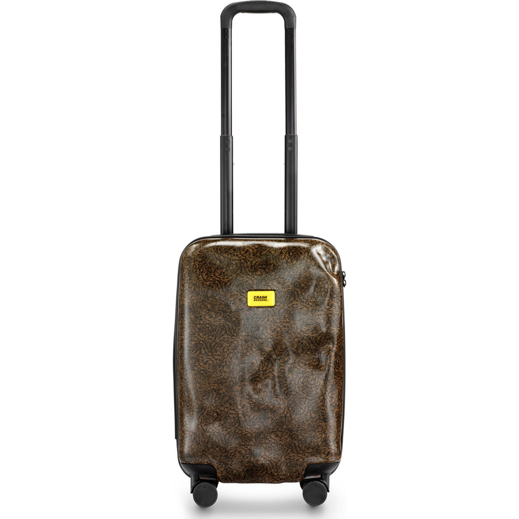 Crash Baggage Surface Cabin Trolley Suitcase | Brown Fur CB121-31