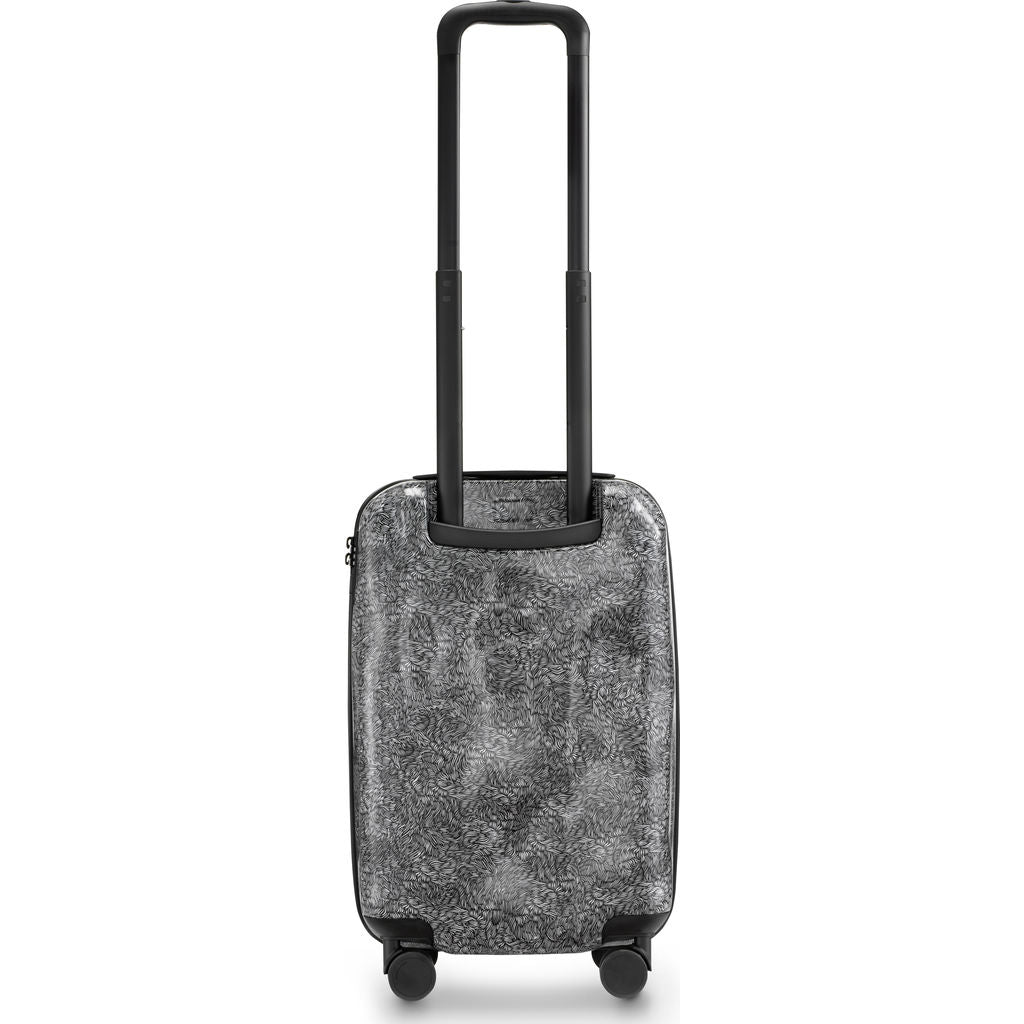 Crash Baggage Surface Cabin Trolley Suitcase | White fur CB121-30