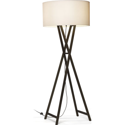 Marset Cala Floor Lamp | Black Pigmented Oak