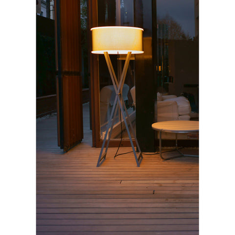 Marset Cala Outdoor Floor Lamp | Gray