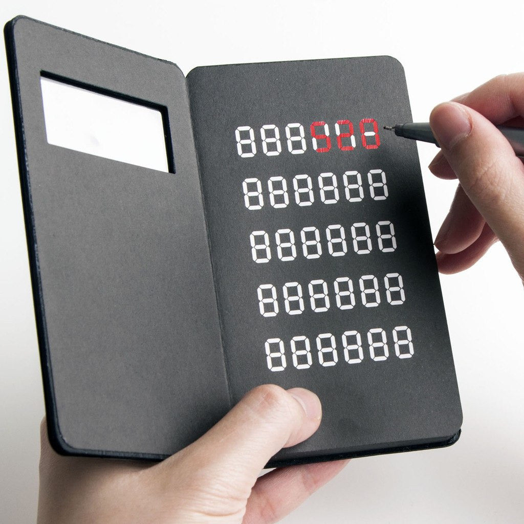 Afterain Pocket Notebook | Calculator SM015-CL