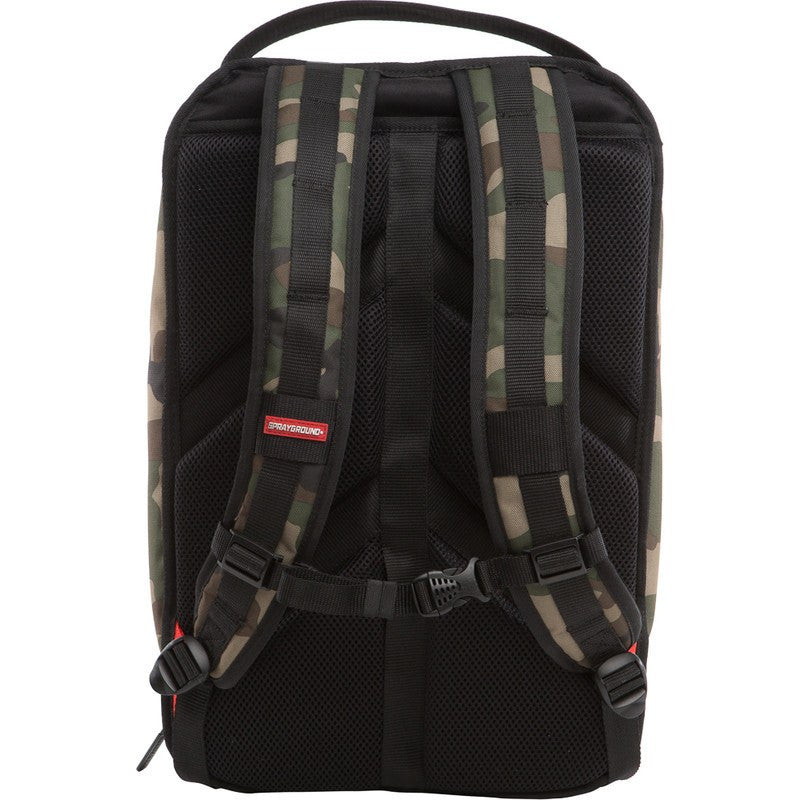 Sprayground Graffiti Utility Backpack | Camo Green