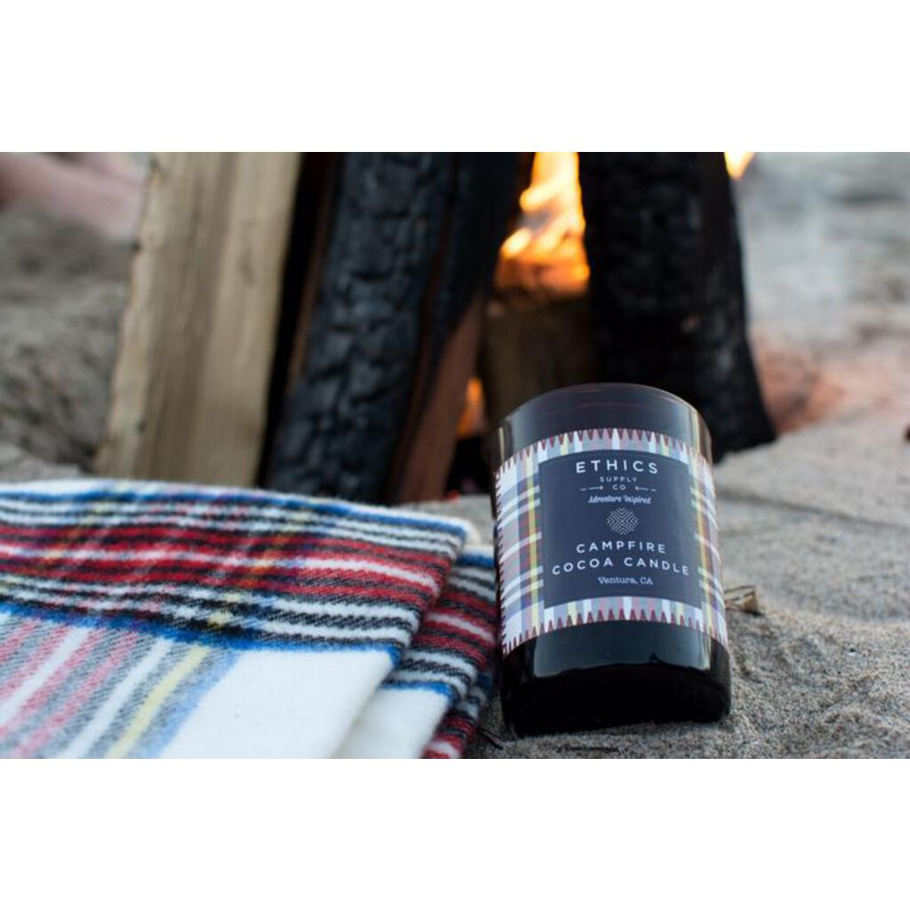 Ethics Supply Co Campfire Candle For Camping & Travel | 11 ...