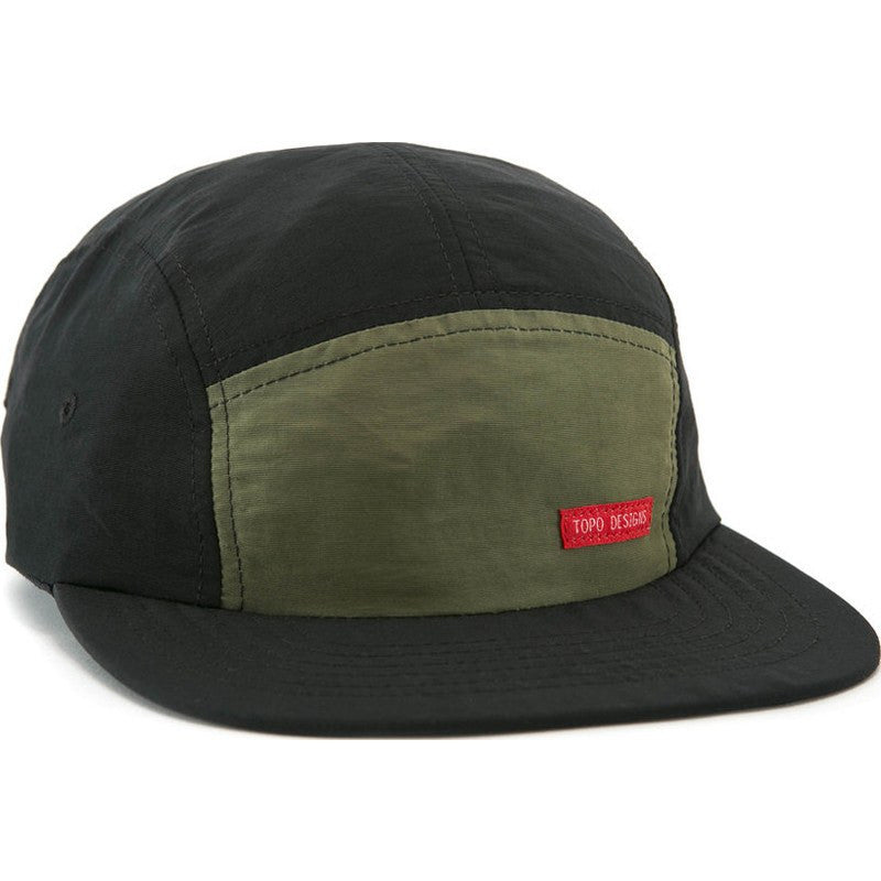 Topo Designs Nylon Camp Hat | Olive/Black