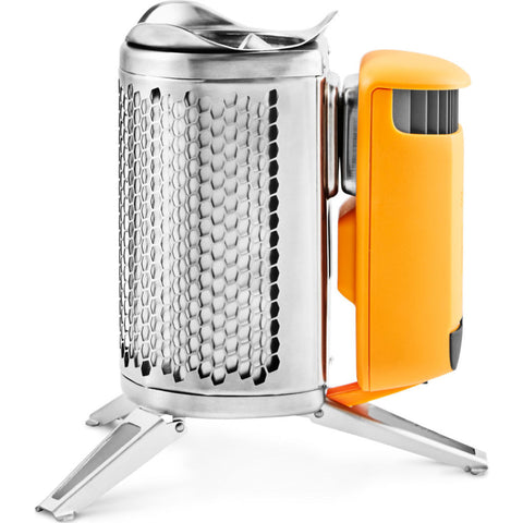 Biolite Multifunctional Camp Stove 2 and Flexlight | Silver/Orange CSC1001
