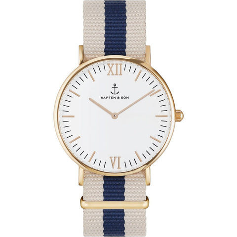 Kapten & Son Campus White Roadtrip Watch | White
