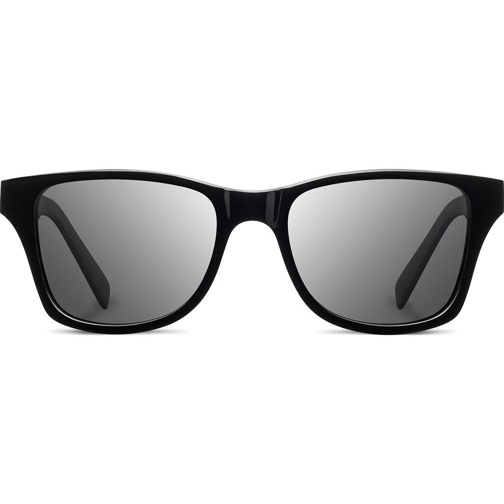 Shwood Canby Acetate Sunglasses | Black & Oxidized / Grey Polarized WABOXGP
