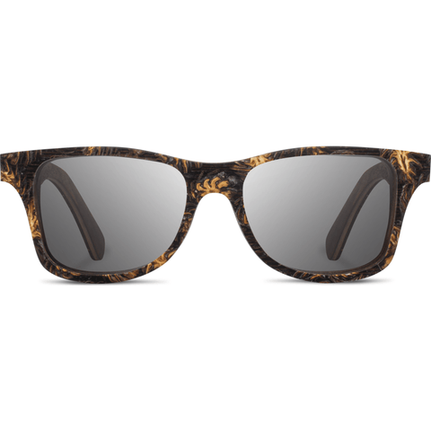 Shwood Canby Pinecone Sunglasses | Walnut/Grey Polarized