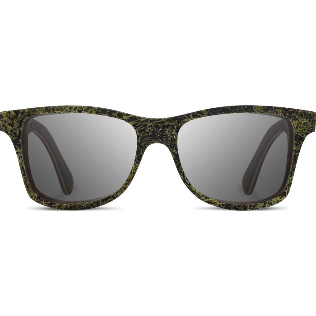 Shwood Canby Moss Sunglasses | Walnut/Grey Polarized