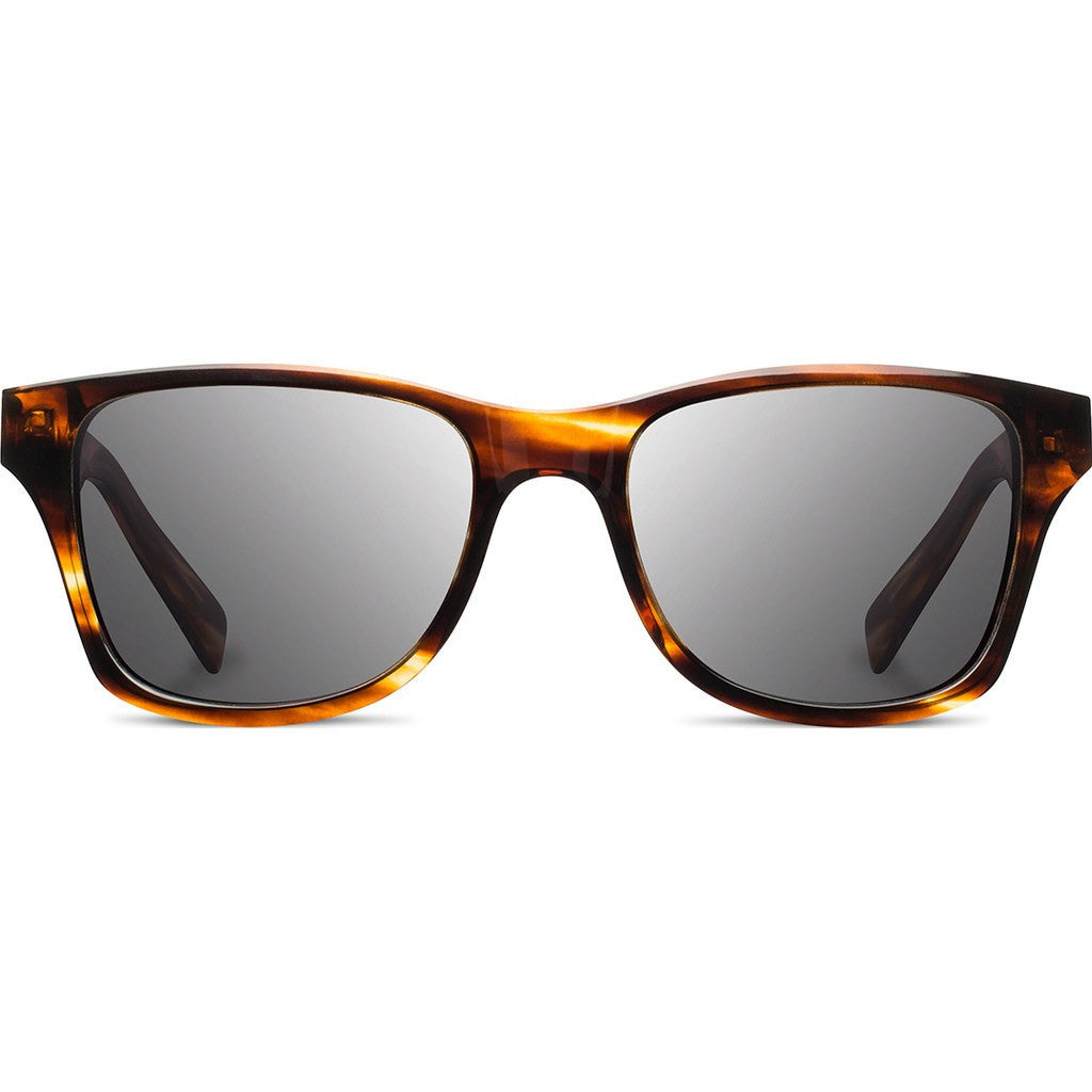 Shwood Canby Acetate Sunglasses | Tortoise & Ebony / Grey Polarized WACTEBGP