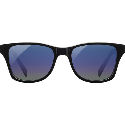 Shwood x Shaper Studios Canby Surf Resin Sunglasses | Black & Midnight / Blue Flash Polarized-WACBMSRB3P
