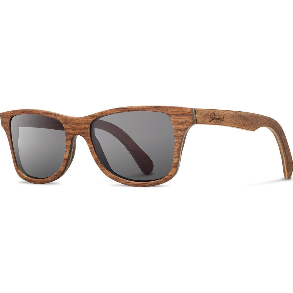 Shwood Canby Original Sunglasses | Walnut / Grey Polarized WOCWGP