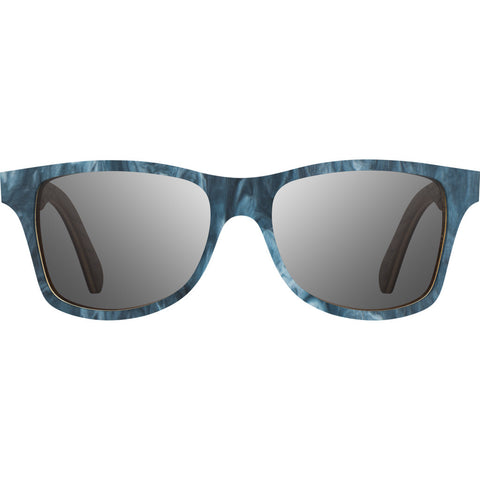 Shwood x Shaper Studios Canby Surf Resin Sunglasses | Midnight / Grey Polarized-WLCSSMSRGP