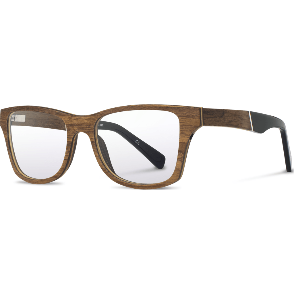 Shwood Rx Canby Original Glasses | Walnut / Black WRXOCWB