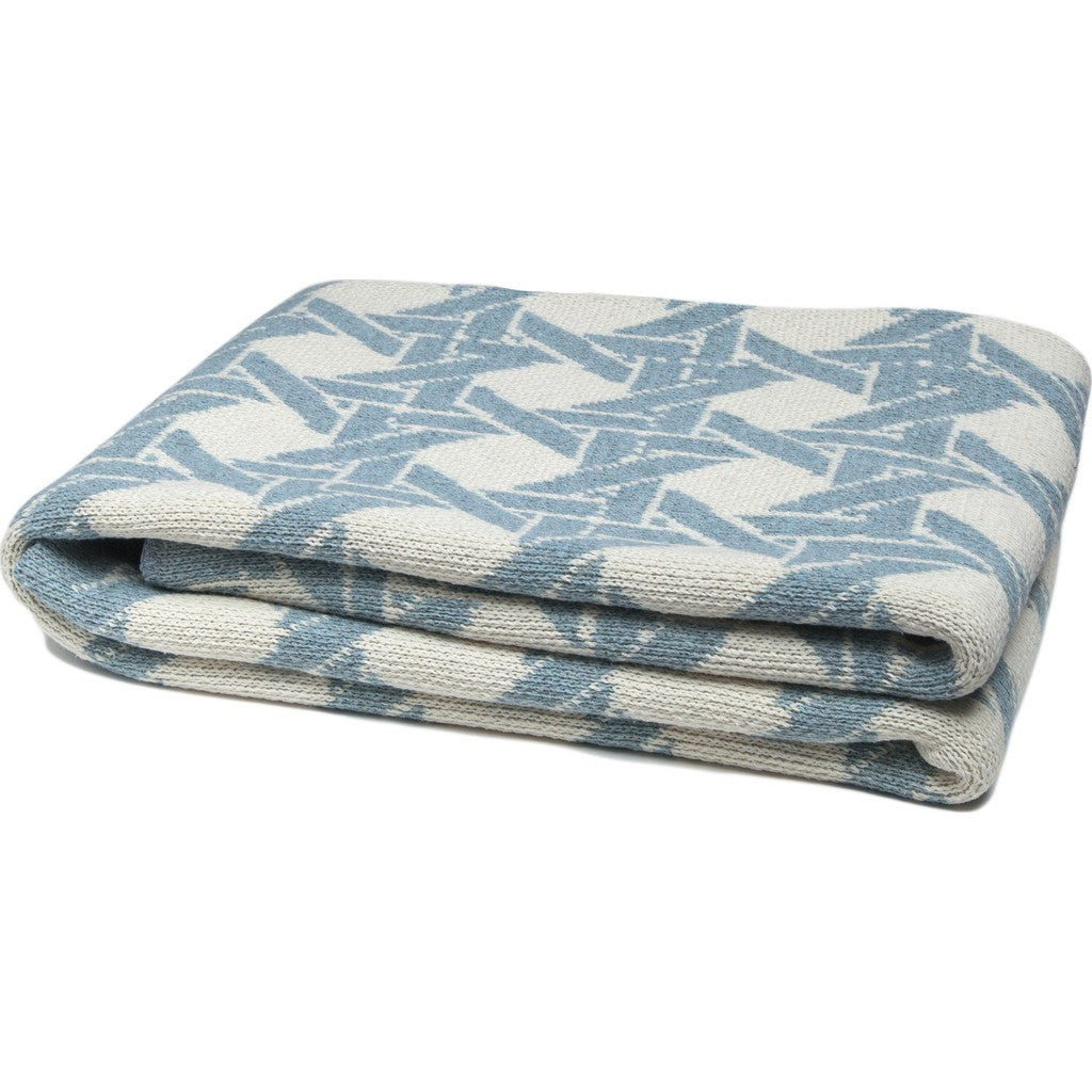 in2green Cane Eco Throw | Milk/Blue Pond BL01CA1