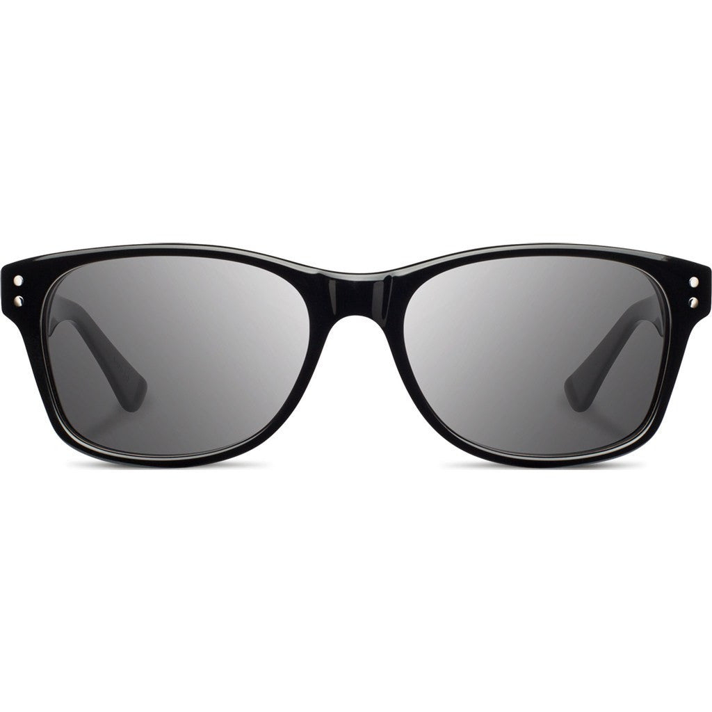 Shwood Cannon Acetate Sunglasses | Black & Ebony / Grey Polarized WAC2BEBGP