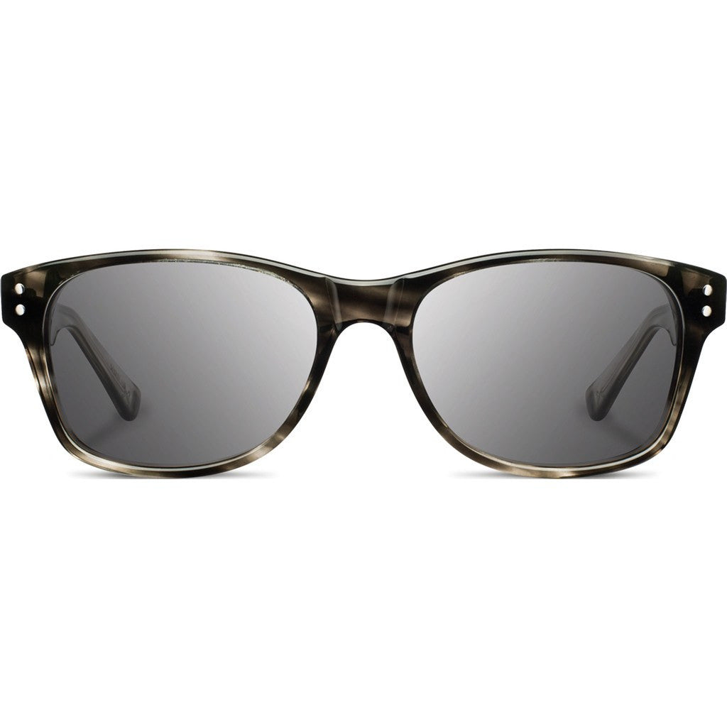 Shwood Cannon Acetate Sunglasses | Pearl Grey & Ebony / Grey WAC2PGEBG