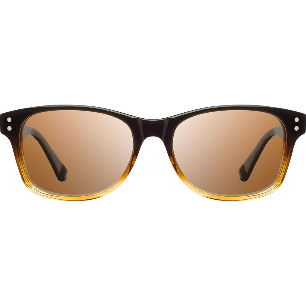 Shwood Cannon Acetate Sunglasses | Sweet Tea & Elm Burl / Brown Polarized