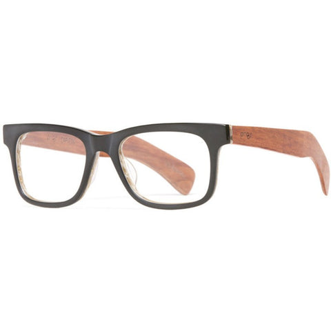 Proof Capitol Eco Rx Prescription Glasses | Matte Black Clear Lens