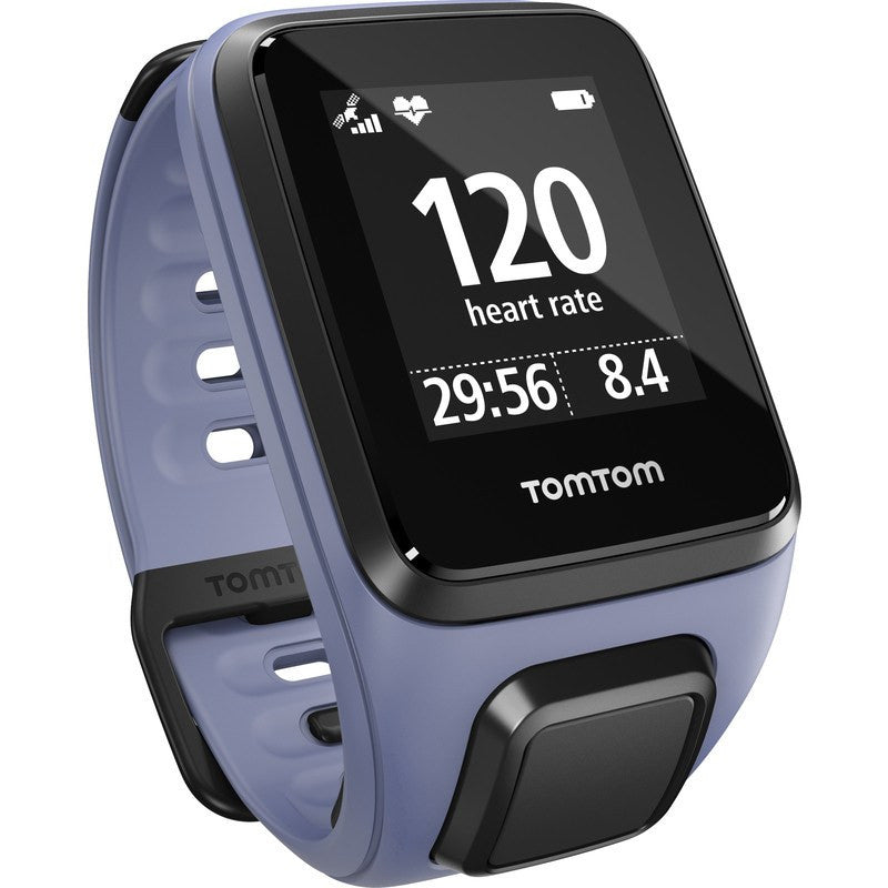 TomTom Spark Music + Cardio Small Watch | Purple Haze 1RFM.002.12