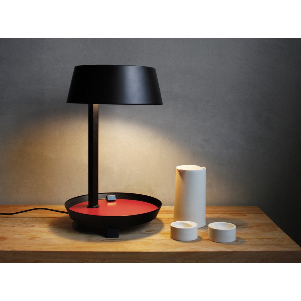 Seed Design Carry Mini Table Lamp | White SQ-6353MDU-WH
